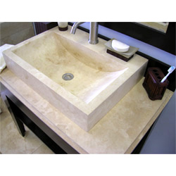 Travertine Countertop