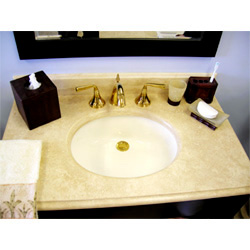 Travertine Countertop Two
