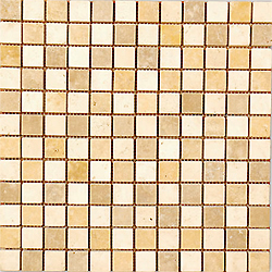2″X2″ Mix Travertine Mosaic
