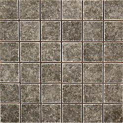 2″X2″ Nero Mosaic