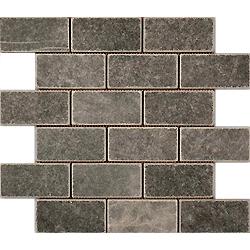 2″X4″ Nero Mosaic