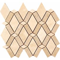 Travertine Waves Mosaic