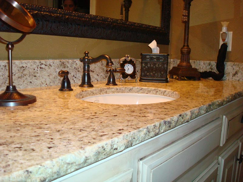 vanity gallery bathroom master countertop single marble countertops granite