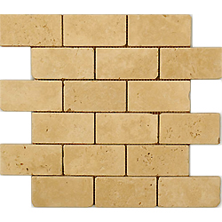 2″X4″ Noche Travertine Mosaic