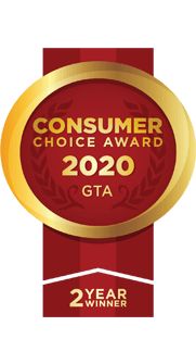 Consumer choice award 2020 GTA stonemasters
